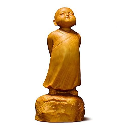 yunyu Moderne Dekoration Skulptur, Statuen Skulptur Sammler Buchsbaum Stand up Little...