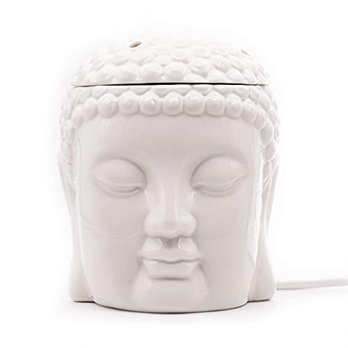 Candle-Brothers Elektrische Duftlampe - Buddha - Aroma Lampe für Dein Zuhause,...