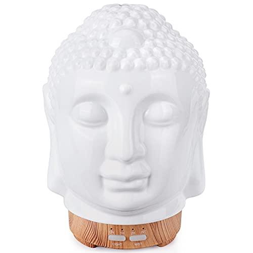 SALKING Buddha Aroma Diffuser, Keramik Diffusor für Ätherische Öle, BPA-Free...