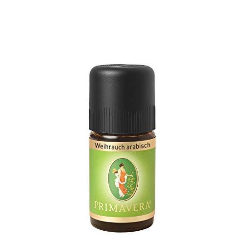 PRIMAVERA Ätherisches Öl Weihrauch arabisch 5 ml - Aromaöl, Duftöl, Aromatherapie...