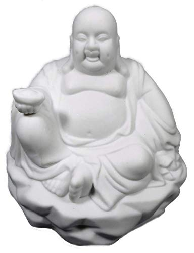 Trends & Trade Duftlampe Buddha 13 x 12 cm Teelichthalter Öllampe Aromalampe...