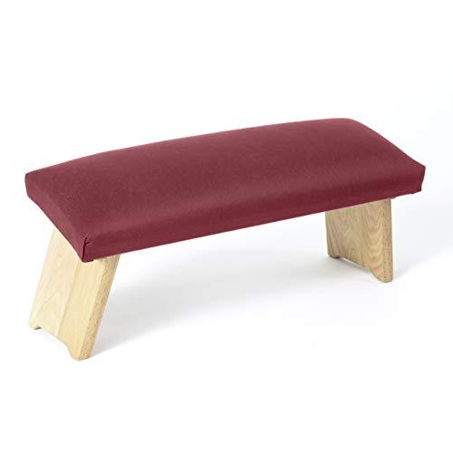 Lotuscrafts Meditationsbank Klappbar Dharma mit Gepolsterter Sitzfläche - Made in...