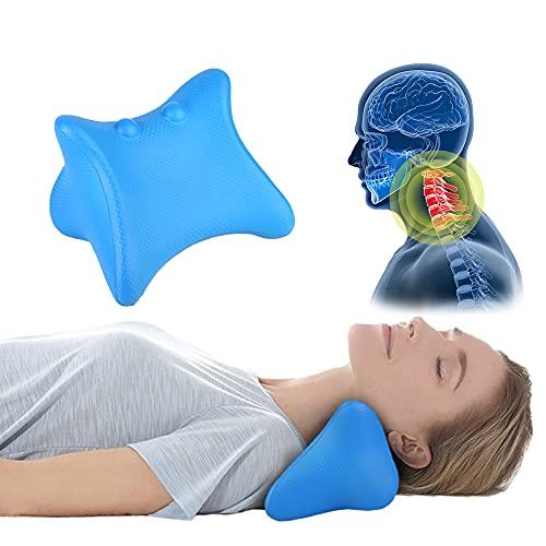 Chiropraktik Kissen für Hals Schulter Schmerzlinderung, FAMILYCRAZY Massagegerät...