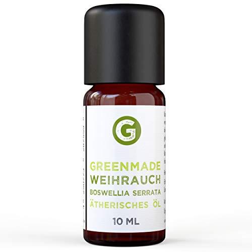 Weihrauch Öl - 100% naturreines, ätherisches Öl (10ml) von greenstyle