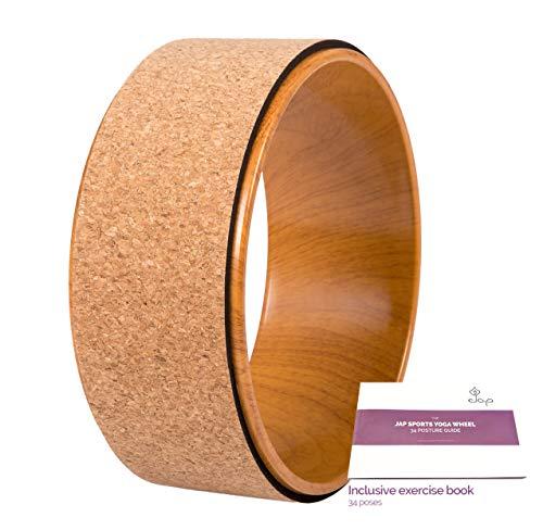 JAP Sports - Yoga Wheel - Yoga Rad - [Pro Series] Stärkstes und bequemstes Dharma...