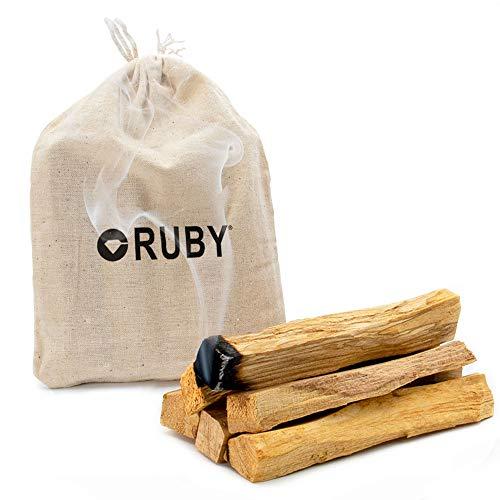 RUBY - Palo Santo Sticks Premium XL Qualität 100% natürliches heiliges Holz aus...