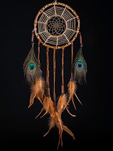 Prince Boho® Bambus Traumfänger Gross, Handgemachter Premium Dreamcatcher, Indianer...