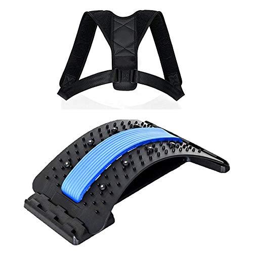 goFun Rückenstreckungsgerät und * Rückengurt als Geschenk *.Rückendehner mit...