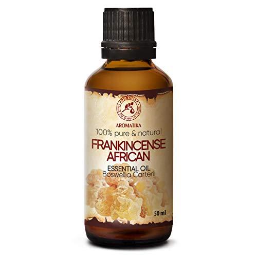 Weihrauchöl Afrikanisch 50ml - Boswellia Carterii - Olibanum Öl - Ätherische...