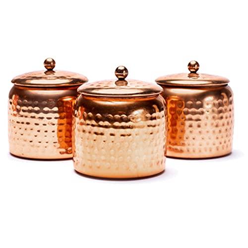 Duftkerzen mit ayurvedischen ätherischen Ölen, 3 Stück