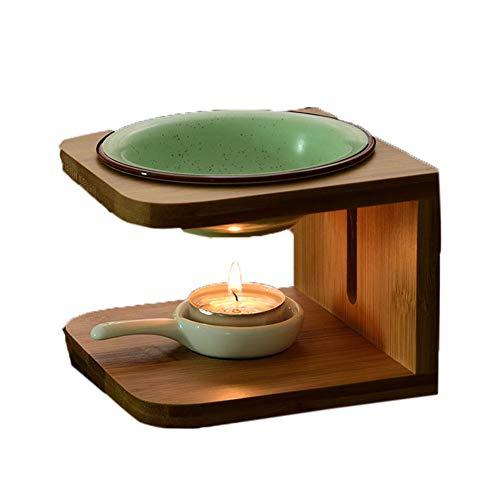 SETSCZY Duftlampe, Aromadiffuser, Duftkerze, Raumduft, Aromatherapie Keramik und...