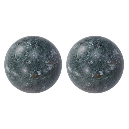 Supvox 2 stücke chinesische gesundheit übung massage jade kugeln baoding kugeln...