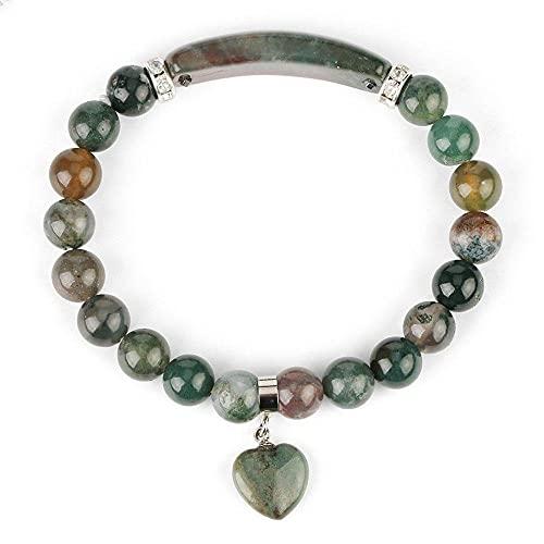Perlen Armband Natürlicher Lavastein 8Mm 7 Chakra Armband Mischfarbe Edelsteine...
