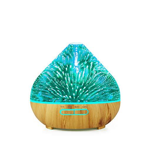 SETSCZY Aroma Diffuser Ultraschall Luftbefeuchter Diffusor Duftlampen Aromatherapie...