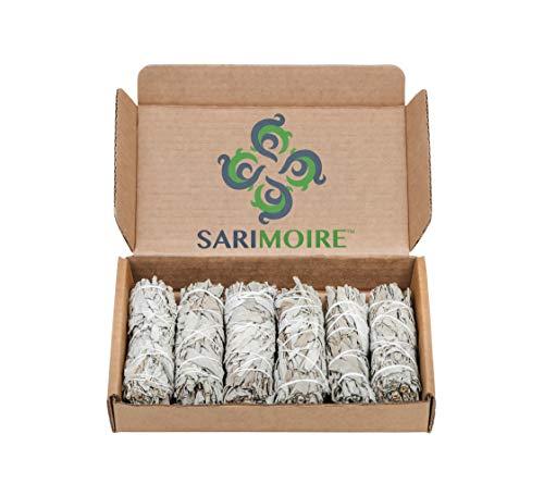 Weißer Salbei Smudge Sticks - 6-10cm Sage Bundles - Perfekte Salbei Stick Smudge...