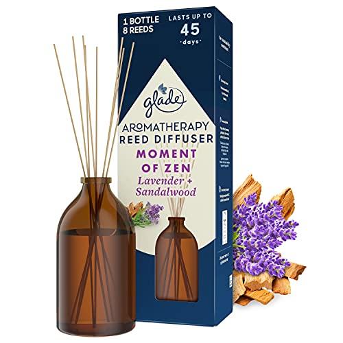 Glade Aromatherapie-Diffusor mit Schilfrohr, Moment of Zen, 80 ml