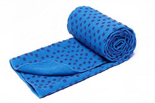 voidbiov Quick Dry rutschfeste Yoga Handtücher (6 Farben) mit Mesh-Tragetasche,...