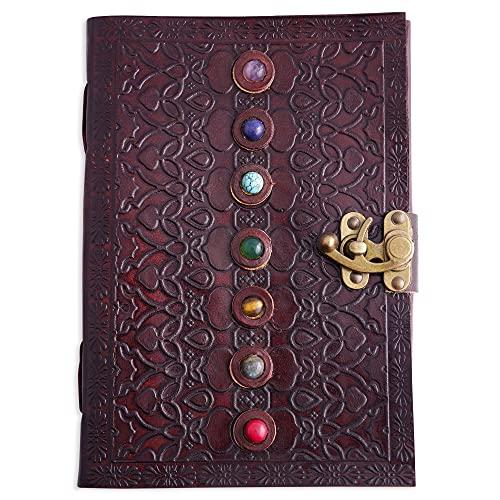 Lederbuch der Schatten, Tagebuch, Supernatural Personal Organizer, Notizbuch mit...