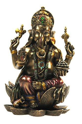 Veronese by Joh. Vogler GmbH Buddha Ganesha auf Lotusthron Feng Shui Ganesh...