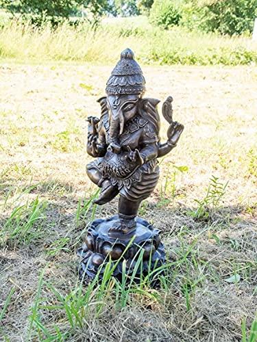 Bronzefigur Bronzeskulptur Bronze Ganesha H 70 cm Indischer Gott Hinduismus Figur...