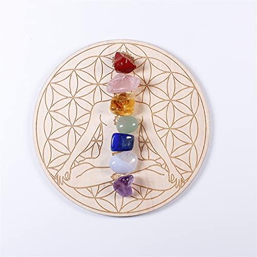 Heimzubehör Natürliche heilende kristall chakra steine-natürlichen kristall...