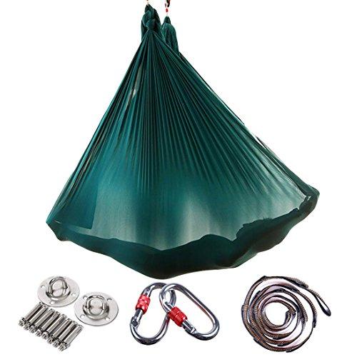 Brinny Yoga DIY Silk Pilates Premium Aerial Silks Equipment Aerial Yoga Tuch Aerial...