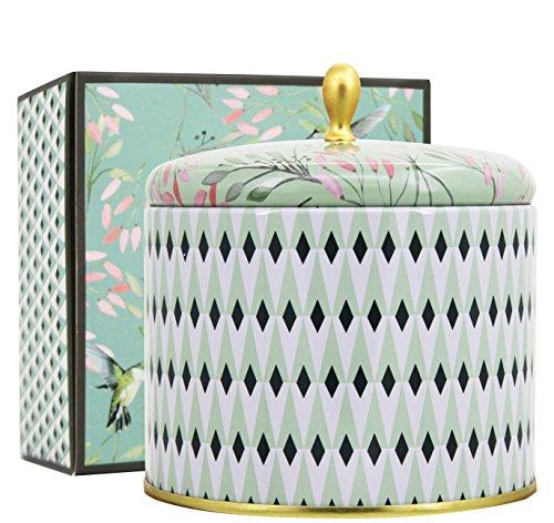 La Jolíe Muse Duftkerze Groß Sojawachs Kerze Weißer Tee, Geschenkkerze, in Dose, 2...