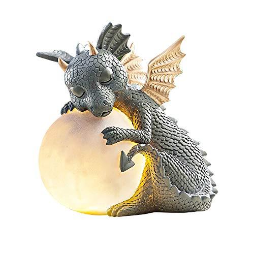 Newmybest® Dinosaurier Led Gartenleuchten Gartenfiguren Gartendeko Figuren für...