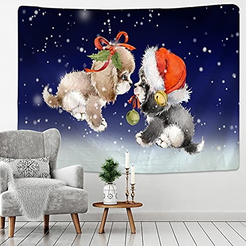 PPOU Psychedelic Scene Animal Tapestry Wall Hanging Home Art Tapestry Bohemian Hippie...