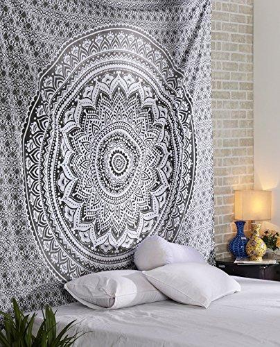 ele ELEOPTION Wandteppich Indian Mandala Wall Hanging Hippie Tapestry Wanddeko für...
