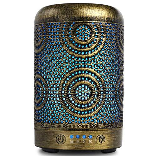 SALKING Aroma Diffuser Luftbefeuchter Humidifier, Handgefertigt Metall Diffusor für...