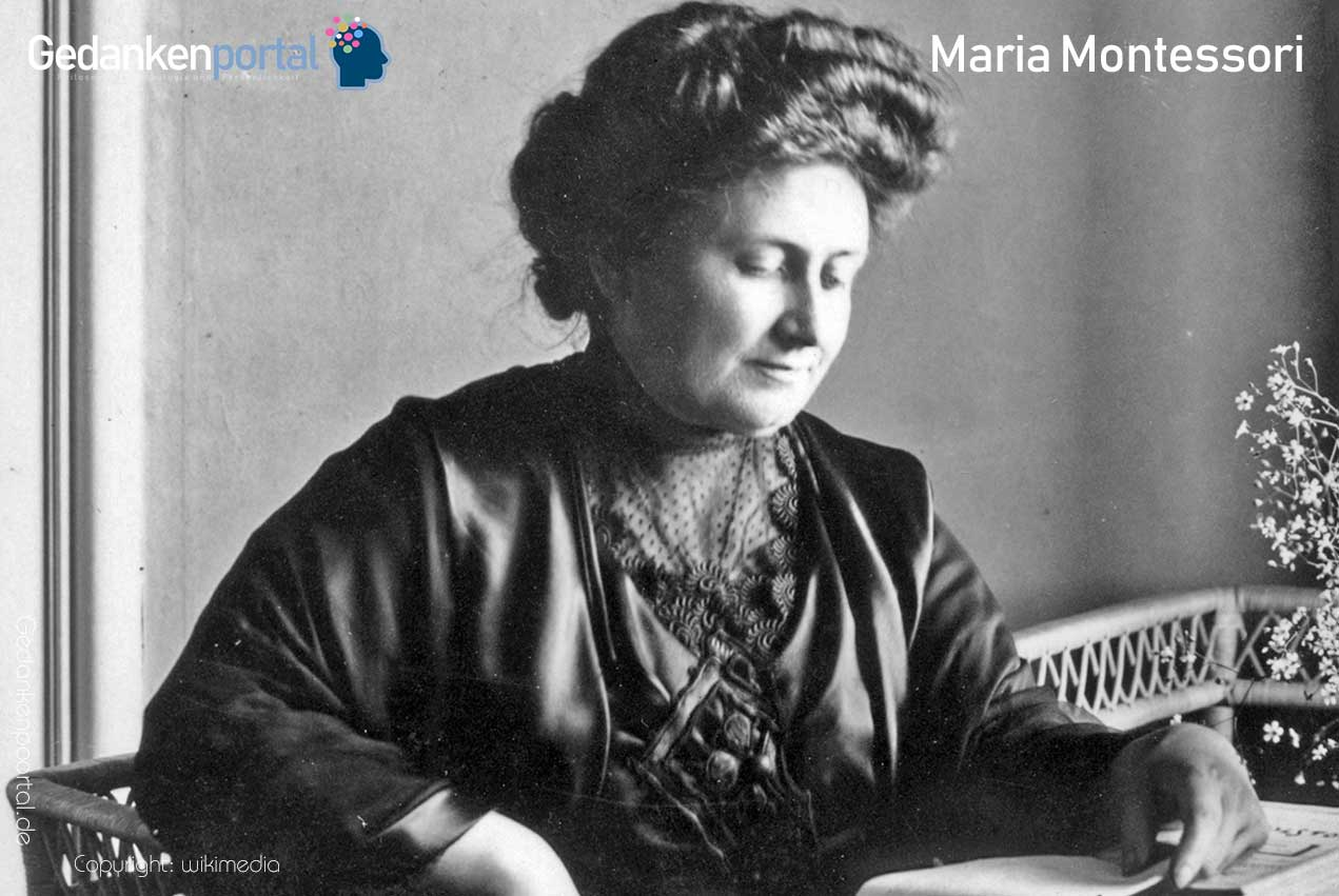 Die 15 Besten Maria Montessori Zitate Gedankenportal