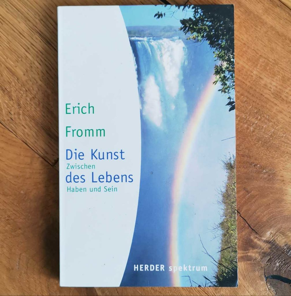 Erich Fromm Buch: Kunst des Lebens