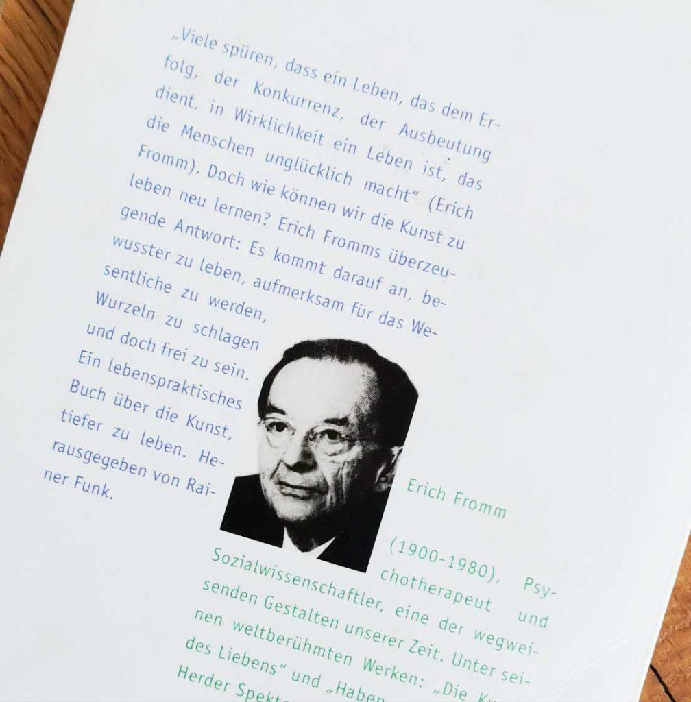 Erich Fromm Buch: Kunst der LIebe