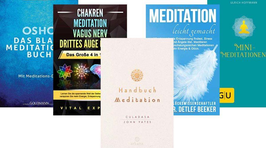 Empfehlenswerte Meditationsbücher