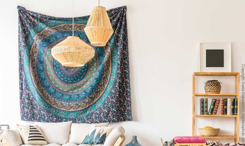 Wandteppich Mandala