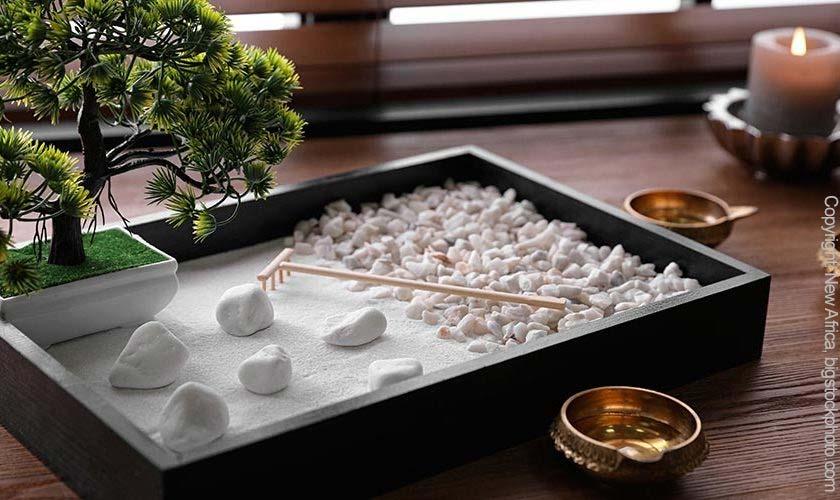 Zen-Garten Miniatur